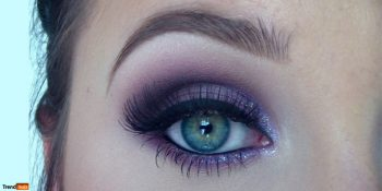 A-Woman-Can-Be-Bold-Using-Purple-and-Eye-Shadow-Color
